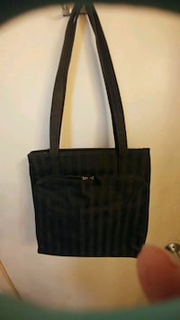 Black stripe tote bag Kitchener, N2G 4X6