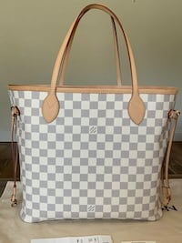 Louis Vuitton Neverfull MM Damier Azur Oklahoma City, 73129