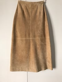 Washable suede skirt 8277 km