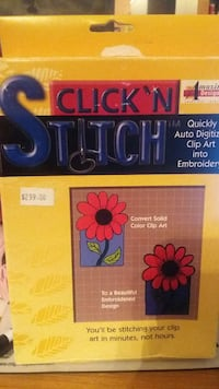 Click N Stitch digitizing software.