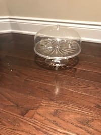 Guzzini acrylic cake stand with lid Vaughan, L4H 0M4