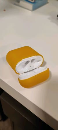 Airpods (Case Only) + Silicone Case