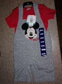 Brand new with tags 24m Mickey mouse outfit  Lake Country, V4V