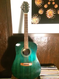 Samick acoustic / electric guitar 20 years old vintage 6 string  New Westminster, V3M 2P7