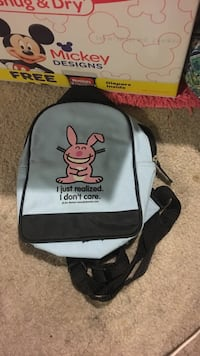 black and gray rabbit graphic backpack Lexington, 29073