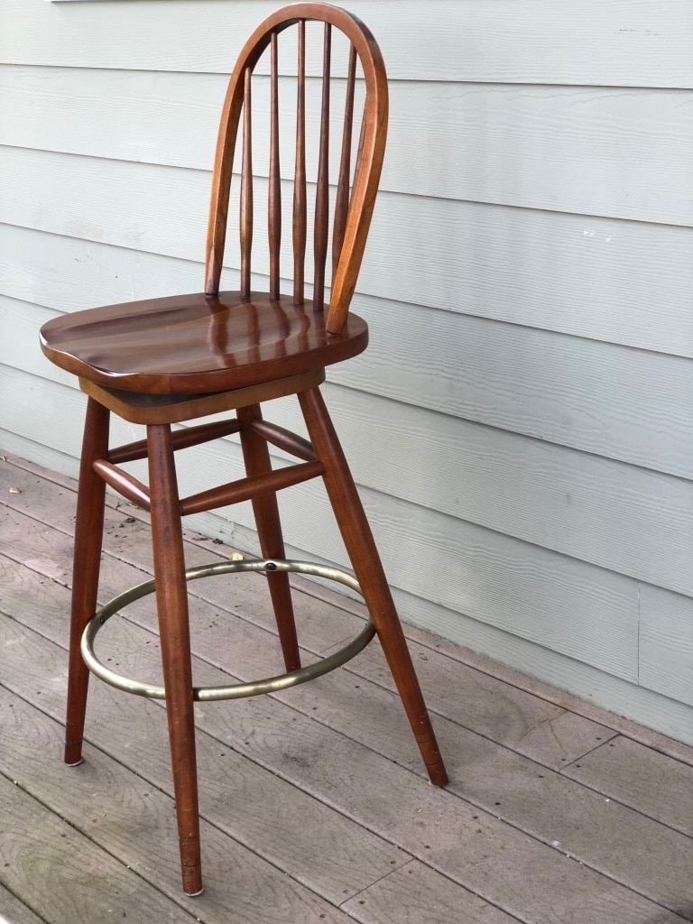 used ethan allen gilbert barstool chair made in america excellent rh us letgo com