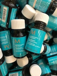 Moroccanoil 50 ML brand new 5 individual- 10 ML bottles.. Great deal.