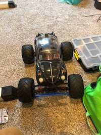 R/C bundle battery and gas cars 40 km