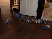 30 skylander characters ps4 superchargers disk connection pad great 3 vehicles great condition  Ashburn, 20147