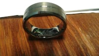 Size 11 men's tungsten ring Calgary, T2A 1M4