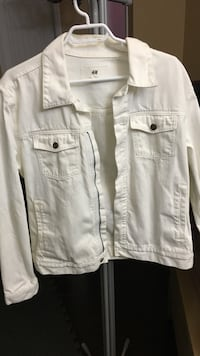 white denim jacket Vancouver, V5W