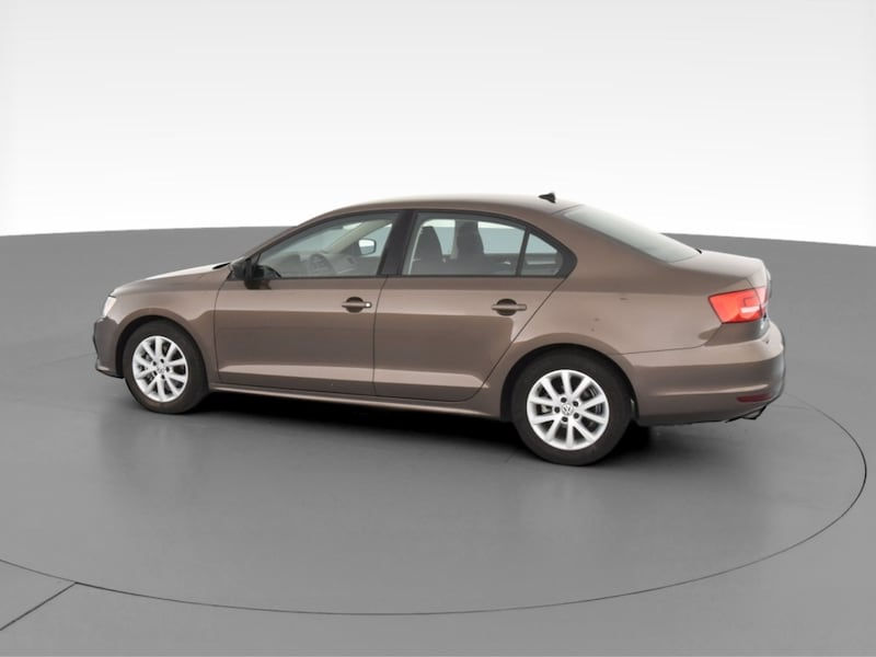 2015 VW Volkswagen Jetta sedan 1.8T SE Sedan 4D Brown  b29c1452-514c-4e63-bc73-836ad0c172d8
