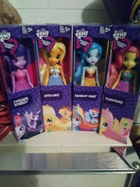 four assorted Pony doll boxes Saint Cloud, 34769