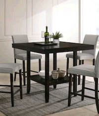 Solid Wood Espresso Dinning Table Set  Weehawken, 07086