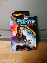 Star Lord Marvel HotWheels Car Charleston, 29414