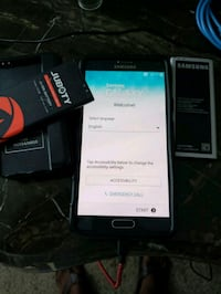 black Samsung Galaxy Note 4 with box Fort Campbell, 42223