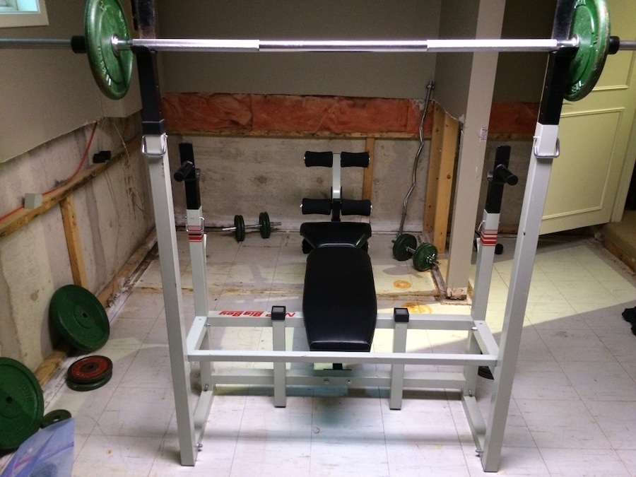 used nsp weight bench in richmond hill