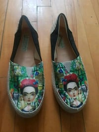 Mexican shoes of FRIDA KHALO. Size 6. Montréal, H2E 2R5