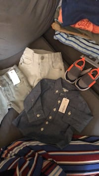 Gymboree baby boy clothes size 0-3 months brand new tags included $5 each $320 value full price  Hampstead, 03841