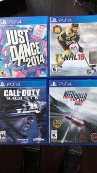 PS4 games St Catharines, L2P 3M7