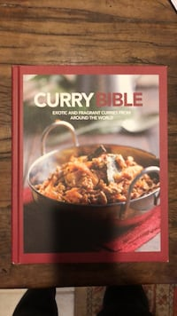 curry cooking book brand new never used excellent condition Union, 07083