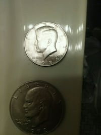 two round silver coin collection Temple Hills, 20748