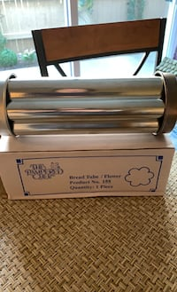 Pampered chef flower bread tube