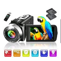 Camera and Camcorder FHD 24MP 18x Zoom NEW ½ PRICE Virginia Beach, 23451