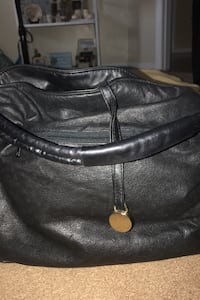 Californian Black and gold bag