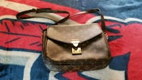 brown and black leather crossbody bag Yonkers, 10701