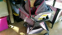 baby's gray and pink stroller Orange City, 32763