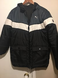 black and white Puma  two way jacket can be wear both side Calgary, T1Y 4V5
