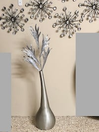 Silver Table or Wall Decor NEW
