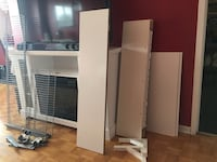 Different sizes shelves in brand new condition Toronto, M2L 1W9