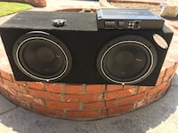 Subwoofer and amp  Huntington Beach, 92646