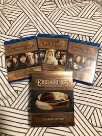 The Lord of The Ring EXTENDED Trilogy BluRay Markham, L3R