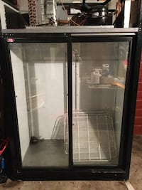 black and gray commercial refrigerator Kitchener, N2H 6H6