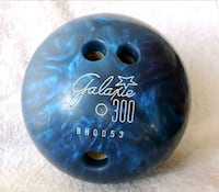 Bowling Ball with Vintage Leather Carry Bag Albuquerque, 87102