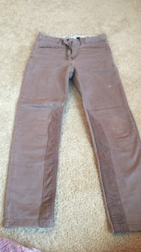 French brand sergent major girl brown pants size 8 years old  Ann Arbor, 48103