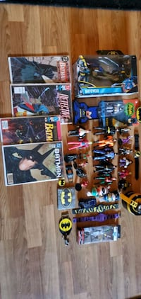 Lot of Batman Toys and Accesories Colonie, 12205