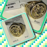 14k gold plated available 100's of AAA cz's Winnipeg, R2M 2T7