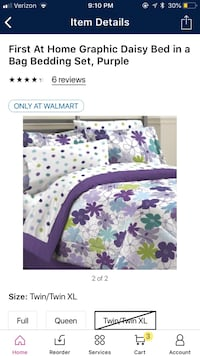Twin/ twin xl comforter set Simpsonville, 29681