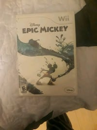 Epic mickey wii Lancaster