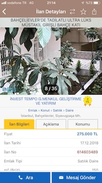 DAİRE 2 + 1 90 ㎡