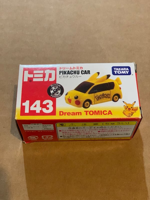 Tomica pokemon Pikachu Car 0