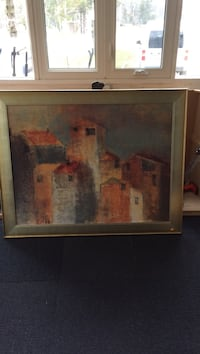 Very large painting 53 x 42.  excellent condition... i have no room for this, my loss, your gain