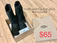 Winter ugg boot. Size 6 woman Mississauga, L4Z 4H8
