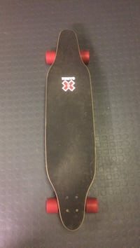 black long board