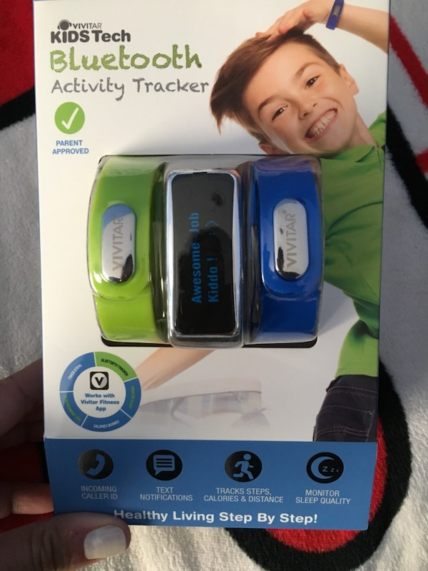 5a7dc17dfff Used Vivitar Kids tech Bluetooth activity tracker for sale in ...