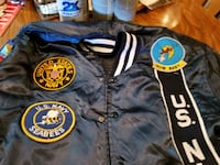 *LETTERMAN'S JACKET* U.S. Navy Patches